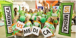 US MEDICA на выставке «InterSHARM - 2015»